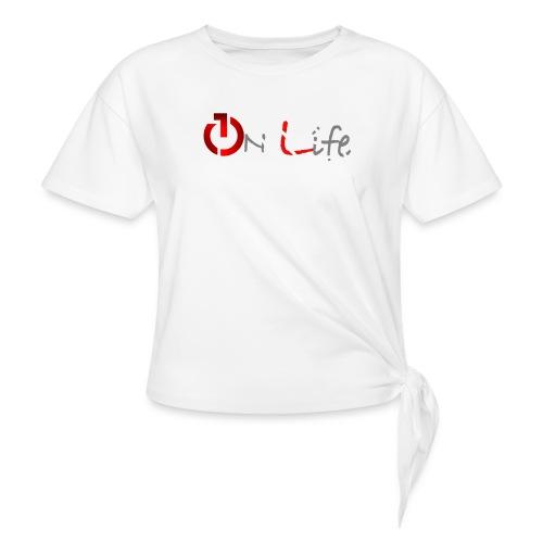 OnLife Logo - T-shirt à nœud