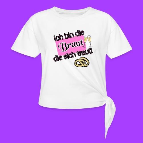 Braut - Knotenshirt