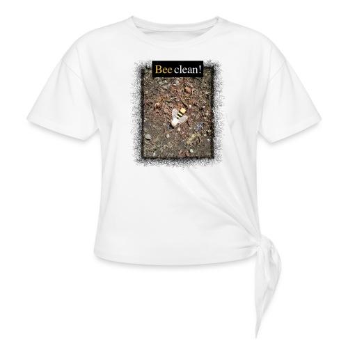 Bee clean - Knotenshirt