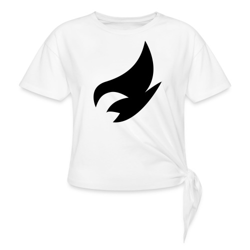 Alveda Music Official Logo - Women's Knotted T-Shirt