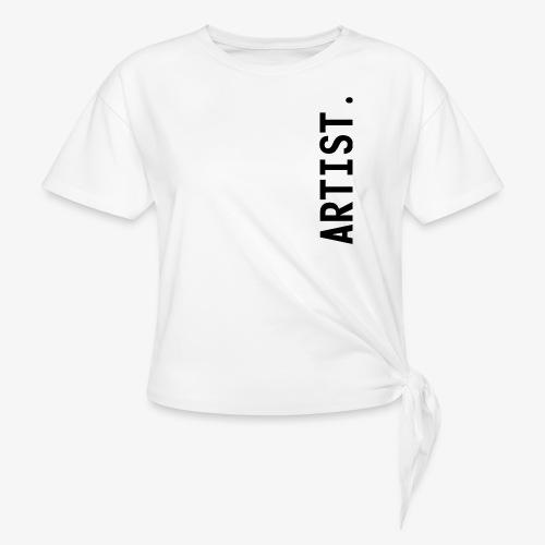 ARTIST. - T-shirt à nœud Femme