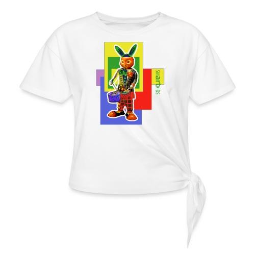 smARTkids - Slammin' Rabbit - Knotted T-Shirt