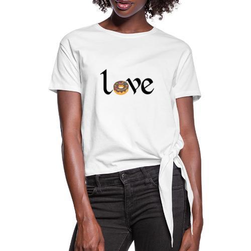 love dona - Camiseta con nudo