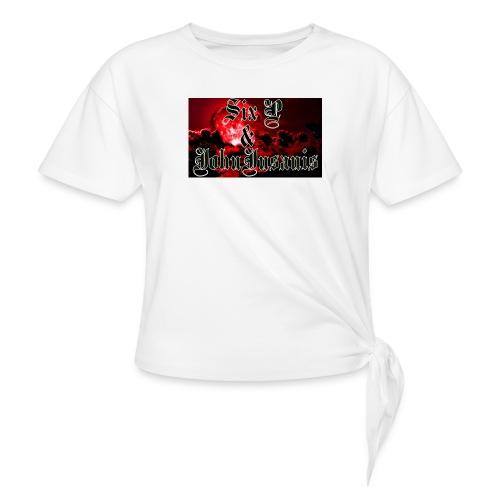 Kontrasti naisten t - paita - Solmupaita