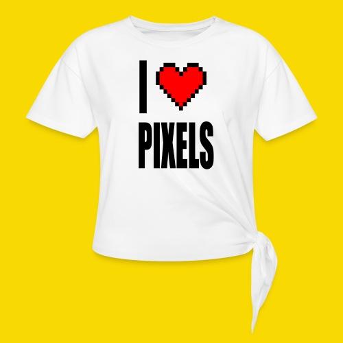 I Love Pixels - Koszulka z wiązaniem