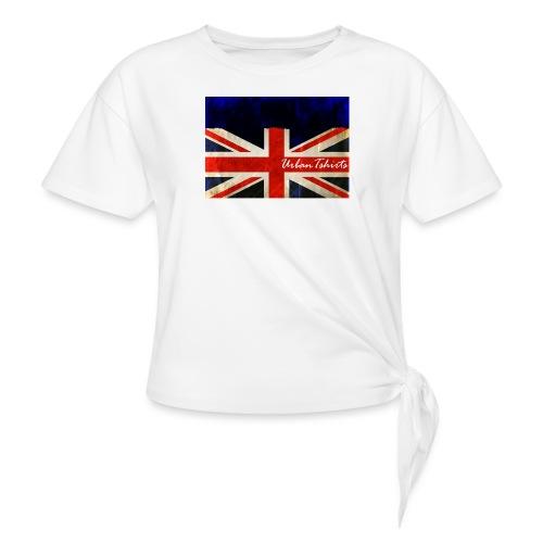 Brittish Flag - T-shirt med knut