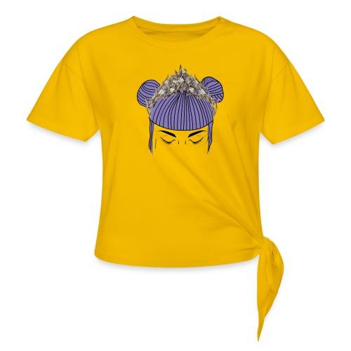Queen girl - Camiseta con nudo mujer