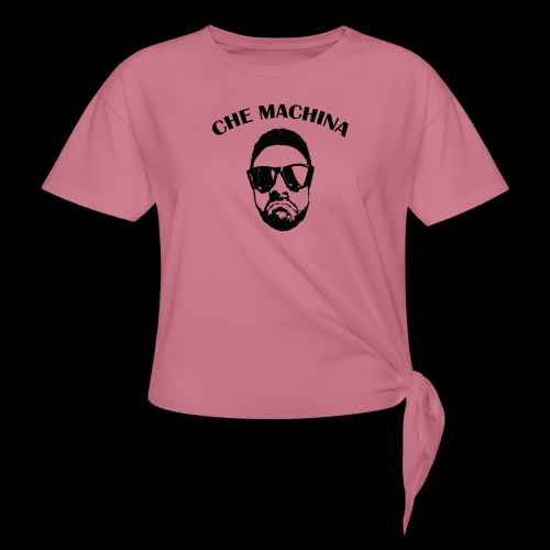 CHE MACHINA - Maglietta annodata da donna