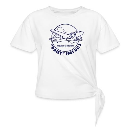 Daisy Clouds 1 - T-shirt med knut dam