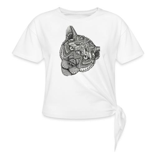 Lion - Vrouwen Geknoopt shirt
