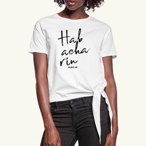 Habacharin - Frauen Knotenshirt