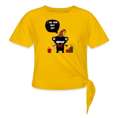 Meilleur cadeau - Best Gift - T-shirt à nœud Femme