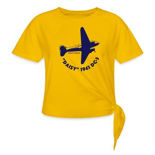Daisy Flyover 1 - T-shirt med knut dam