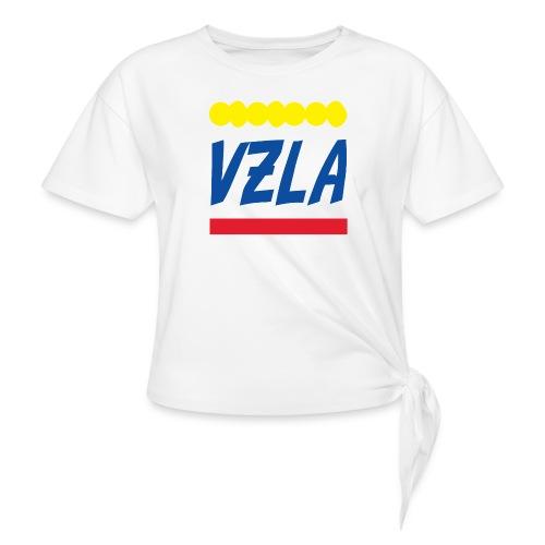 vzla 01 - Camiseta con nudo mujer