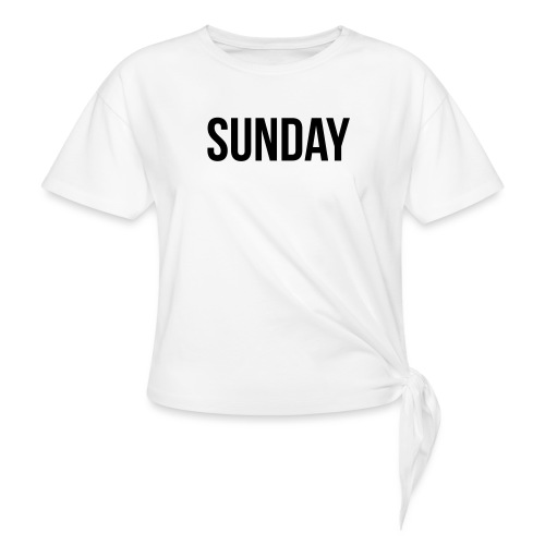 Sunday - Knotted T-Shirt