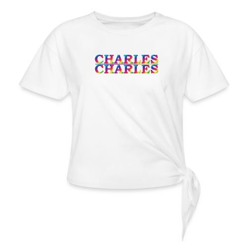 CHARLES rainbow - Knotted T-Shirt