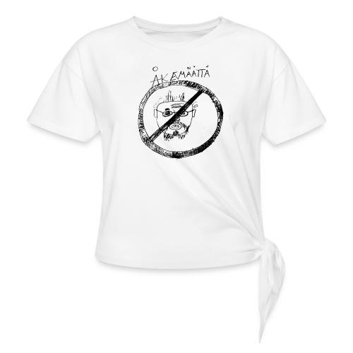 Mättää mugg - T-shirt med knut dam