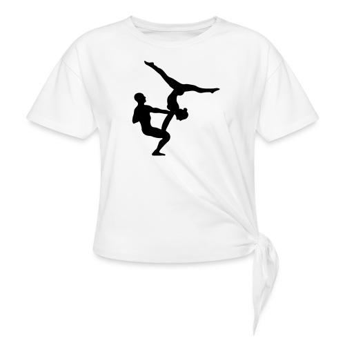 AcroYoga Counterbalance - Frauen Knotenshirt