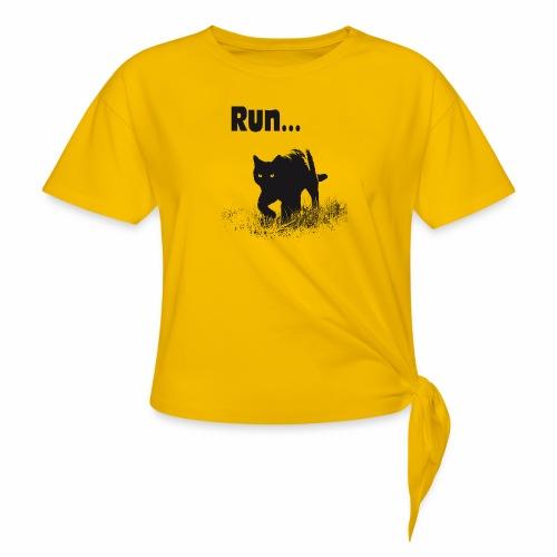 Run... - Frauen Knotenshirt