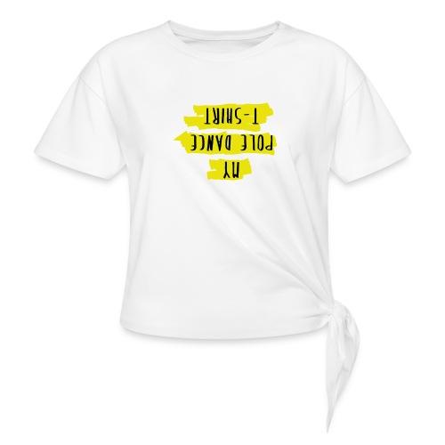 Perfect for inverts - Camiseta con nudo mujer