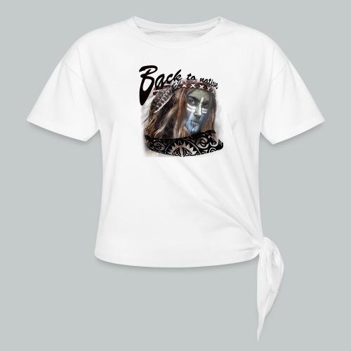 progress2 - Vrouwen Geknoopt shirt