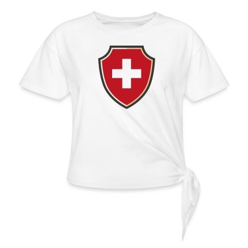 Swiss Flag - Knotenshirt