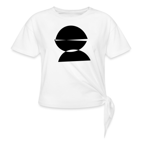 refugee rights abstract - Frauen Knotenshirt