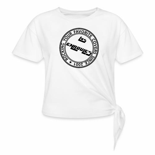 Badge - T-shirt à nœud Femme