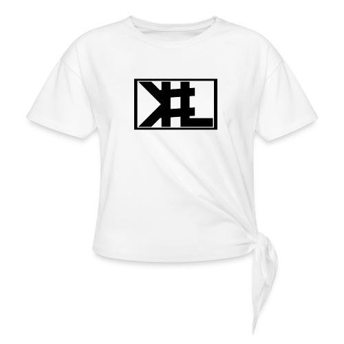 kllogga2 png - T-shirt med knut dam
