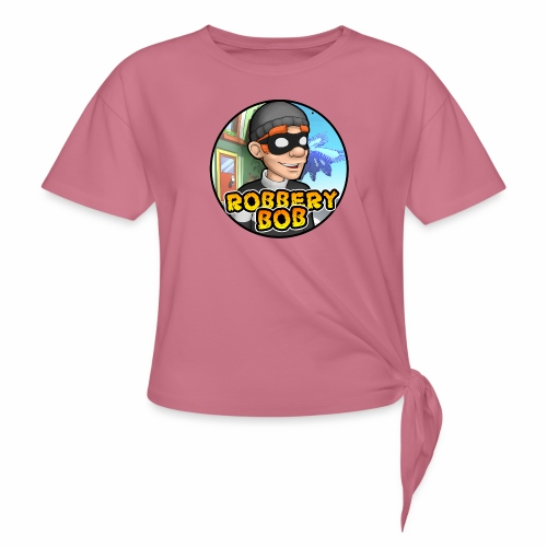 Robbery Bob Button - Women's Knotted T-Shirt