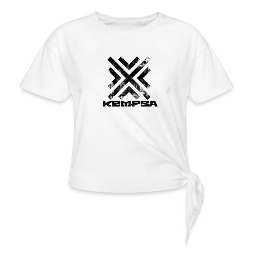 Felpa con logo - Maglietta annodata