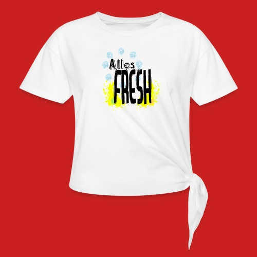 Alles Fresh / Frisch Sommer Eis - Knotenshirt