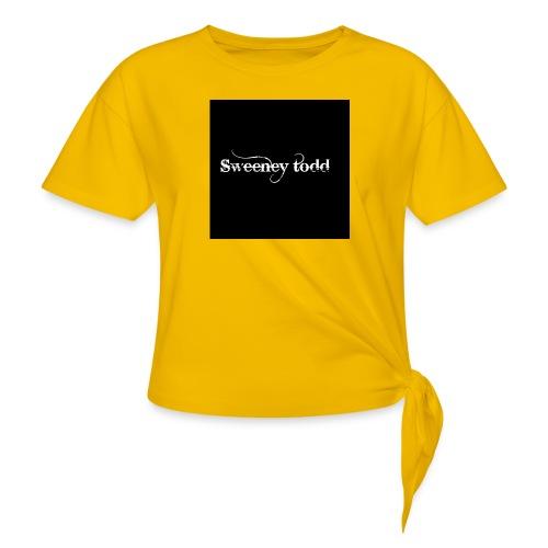 Sweney todd - Dame knot-shirt