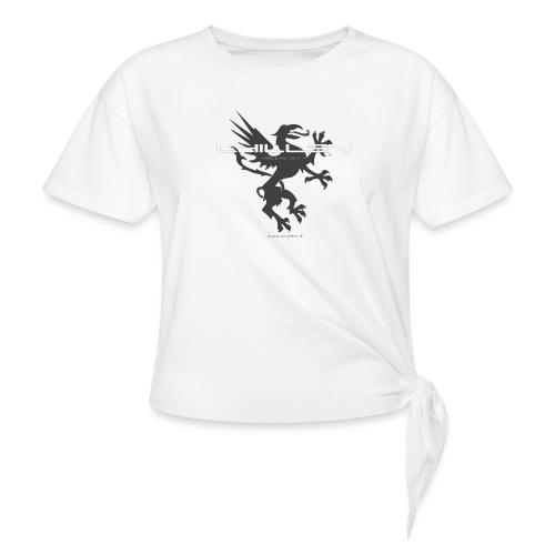 Chillen-1-dark - Knotted T-Shirt