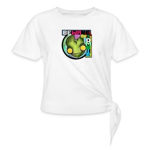 Beware of zombie - Camiseta con nudo