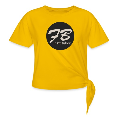 TSHIRT-INSTAGRAM - Vrouwen Geknoopt shirt