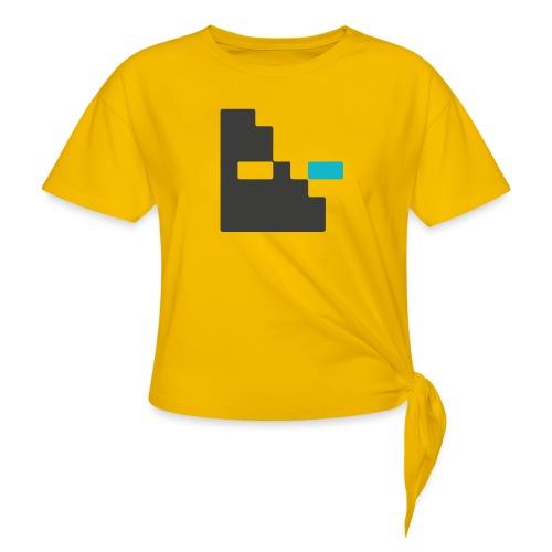 Mortu Logo - Vrouwen Geknoopt shirt