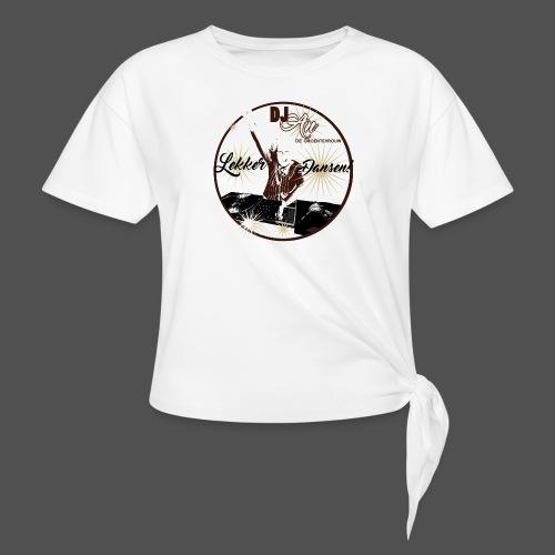 DJ An - Vrouwen Geknoopt shirt