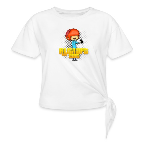 Diseño Simple AlCraft Edit - Camiseta con nudo