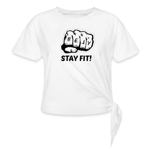 Sport tøj - Dame knot-shirt
