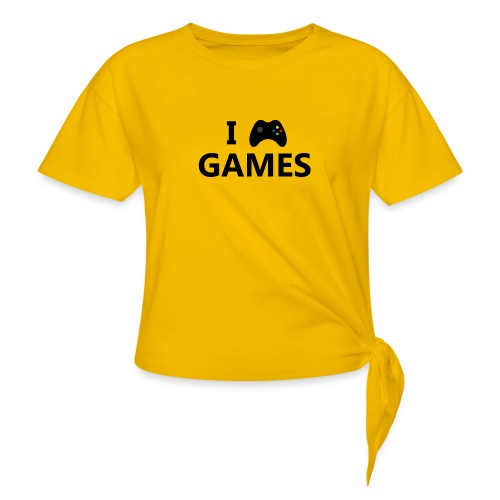 I Love Games 3 - Camiseta con nudo