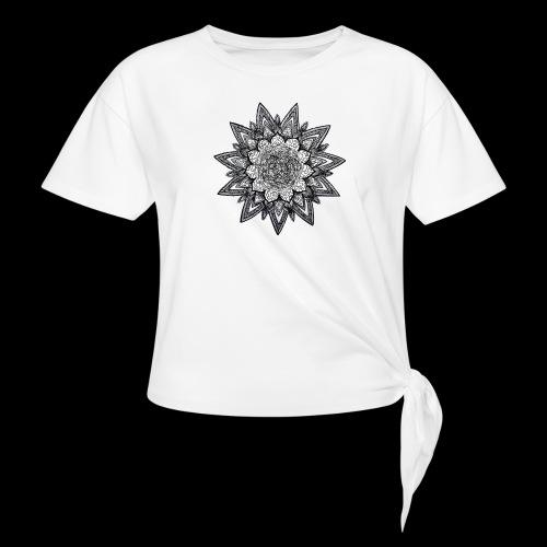 trippy dreams - T-shirt à nœud Femme
