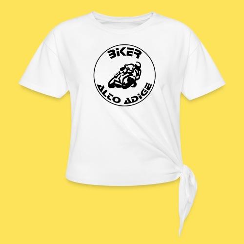 BikerAltoAdige circle logo Jacket - Maglietta annodata