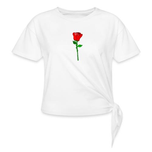 ROSE - Frauen Knotenshirt