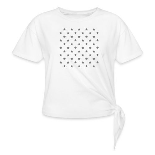 eeee - Knotted T-Shirt