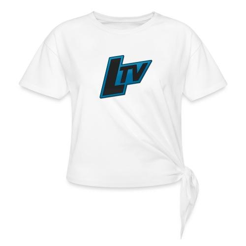 Lundorff_tv - Dame knot-shirt