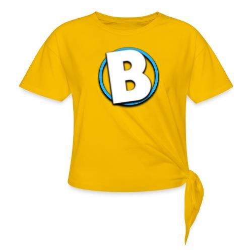Bumble Logo - Women's Knotted T-Shirt