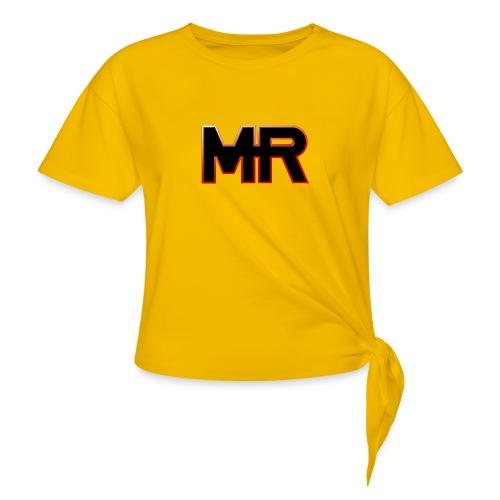 MR logo - Dame knot-shirt