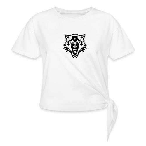 The Person - Vrouwen Geknoopt shirt