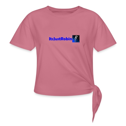 Eerste design. - Women's Knotted T-Shirt